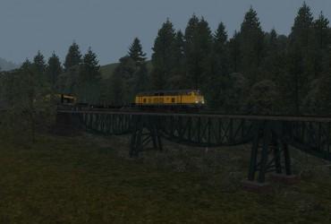 Gleisbaustelle bei Grimmelshofen Teil1