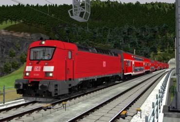 [423 853] RE 40 Altenburg-Hoch Merzburg-Express Teil 2